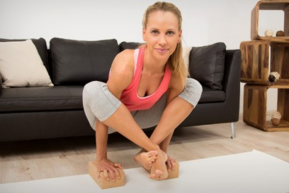Yoga Armbalance – Bhujapidasana