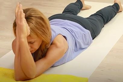 Yin Yoga für Schultern