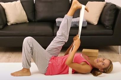 Yoga für verkürzte Beinrückseiten