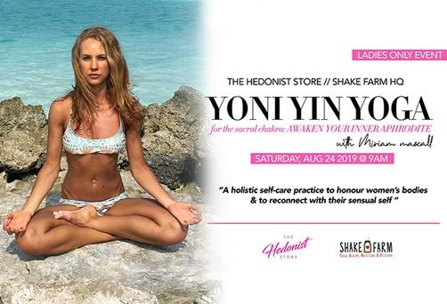 Yoni Yin Yoga Workshop – for the sacral chakra