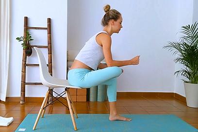 Yoga for Sciatica (23 min)